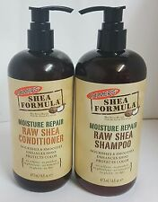 PALMER'S SHEA BUTTER MOISTURE REPAIR RAW SHEA SHAMPOO&CONDITIONER ANTI BREAKAGE