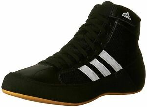 Adidas Havoc Wrestling Shoes Boxing Boots Trainers Pumps Mens Adults Black HVC