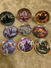 12 Bradford Exchange Lord of the Rings Collectible Display Mini Plates