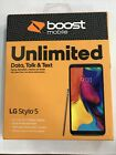 Lg Stylo 5 Lmq720ps - 32gb - Silver (boost Mobile) New