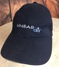 Linear Air Taxi Navy Blue Logo Mens Baseball Cap Strapback Hat from zkapz
