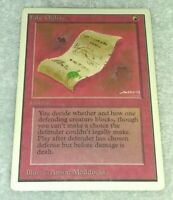 Magic the Gathering False Orders Unlimited MTG HP
