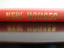 1964 NEW HOUSES Penelope Whiting 60's MODERN ARCHITECTURE TRENDS VTG BOOK HB VGC