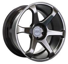 XXR 556 18x8.75 Rims 5x114.3 +19 Chromium Black Wheels (Set of 4)