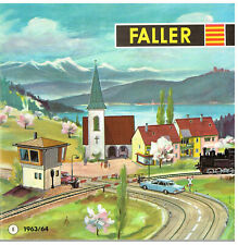 Kit Faller Modellbau 1964 AMS ranura de coche Auto Motor Sport aviación Ferrocarril de plástico