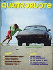 QUATTRORUOTE N° 296 - GIUGNO 1980 VOLKSWAGEN GOLF _ DATSUN CHERRY _ FORD TAUNUS