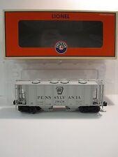 LIONEL 6-17080 O SCALE PENNSYLVANIA PS-2 2 BAY COVERED HOPPER AND ORIGINAL BOX