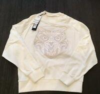 Authentic juun j Hooded Sweater Shirt White  Sz48