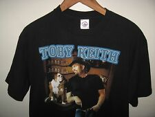 Toby Keith Tee - 2004 Country Western I Love This Bar Concert Tour T Shirt Large