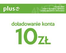 DOŁADOWANIE DOLADOWANIE - PLUS 10 PLN [Szybka realizacja/PayPal/Przelew]