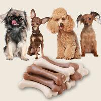 New 6PCS Smart Dog Dental Chews Bones Natural Large Yummy Treats for Dogs 3la