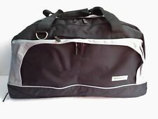 Wurth Duffle Bag Carry On Black with Grey Trim w/Shoes Compartment X Large