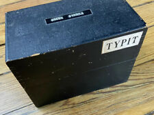 typit mechanical enterprises greek symbols typewriter keys