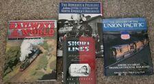 Four Railways and Railroad & Train books  Pictorial Photos Information  119B