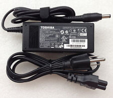 Original OEM Toshiba PA3917E-1AC3,G71C000DL110,U1000EA 65W AC Power Adapter+Cord