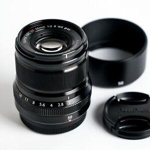 Fujifilm XF 50mm f/2.0 WR Lens. Mint!