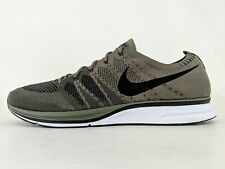 Nike Air Flyknit Trainer Sz 15 Medium Olive AH8396-200 Classic Black White NSW