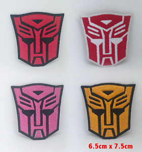 Transformers movies comic Autobot badges Iron or Sew on Embroidered Patch