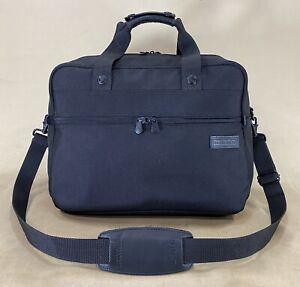 "Briggs & Riley Travelware Classic Black Ballistic 16"" Carry On Gym Weekend Bag"