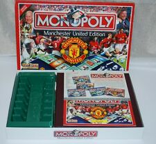 MONOPOLY MANCHESTER UNITED Official Limited Edition 2003 Winning Moves Complete