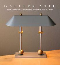 RARE! MID CENTURY MODERN SONNEMAN DESK LAMP!  3-way Kovacs Eames Light 60's Vtg