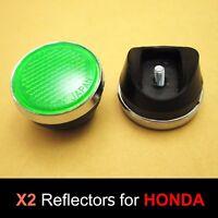 Honda S90 CL90 SL90 SL100 SL125 SL175 SL350 Green Front Fork Reflector Japan