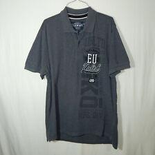 Ecko Unltd Classic Short Sleeve Polo Golf Shirt Gray Size Large L Mens Clothing