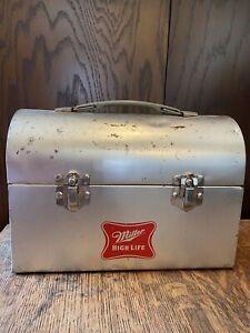 Vintage Miller High Life Metal Lunchbox