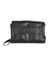 100% Auth New Women Yves Saint Laurent Jaime Large Quilted Chain Shoulder Bag