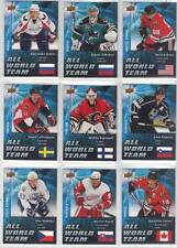 EVGENI NABOKOV SAN JOSE SHARKS GOALIE 2009-10 UPPER DECK ALL-WORLD TEAM #AW10