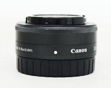 # Canon EF M 22mm F/2 STM Lens -Black
