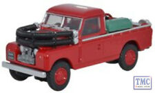 76LAN2004 Oxford Diecast Red Land Rover Series II Fire Appliance 1/76 Scale OO G