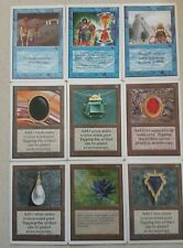 Mtg Black Lotus p9 Replica Mox Jet Ruby Pearl Sapphire Emerald time and other