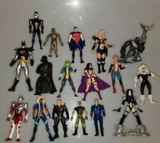 Vintage Lot Of Action Figures...Ultraman, Batman, Star Wars, Marvel