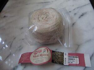 Misti Alpaca yarn Hand Paint Lace 100g  100% baby alpaca