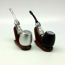 Unique Manual Power Button 1100mAh Electronic Pipe H610 with Wooden Display