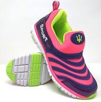 Girls Childrens Casual Slip on Summer Sports Running Trainers Kids Shoe UK Size