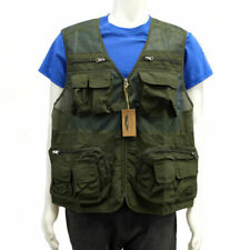 Woodland Creek Men's Fishing Vest in Green - Large