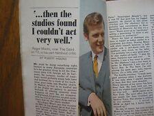 1967 TV Guide (ROGER MOORE/THE SAINT/BARBARA  WALTERS/SIGRID  VALDIS/STAR  TREK)