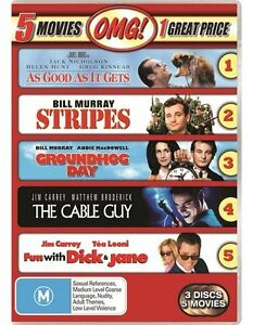 The As Good As It Gets / Cable Guy / Fun With Dick And Jane / Groundhog Day /...