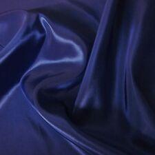 "Plain Royal Blue Silky Taffeta Fabric Weddings 60"" P/M"