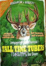 1/2 ACRE Whitetail Institute TALL TINE TUBERS SEED Deer Plot Turnip Seeds
