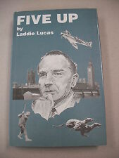 "SIGNED 1991 ED ""FIVE UP"" BY NOTED WWII R.A.F. COMMANDER LADDIE LUCAS!"