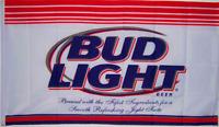 BUDWEISER BUD LIGHT BEER FLAG NEW 3X5ft superior quality fade resist USA seller