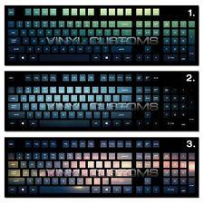 Mechanical Keyboard Cherry MX Keycap / Key cap Vinyl Decals - 001