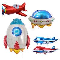 Rakete Thema Party Supply Inflation Flugzeug Ballons für Spacecraft