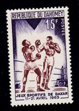 DAHOMEY   SCOTT# 176 MNH   SPORT/BOXING  TOPICAL