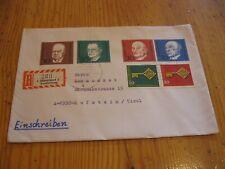 E-Brief aus Düsseldorf nach Kufstein, schöne Sammlerfrankatur !  Fotos