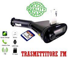 Trasmettitore audio FM stereo auto Musica USB Caricatore Caricabatteria usb auto
