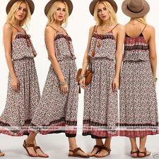 Unbranded Summer/Beach Long Sleeve Floral Dresses for Women